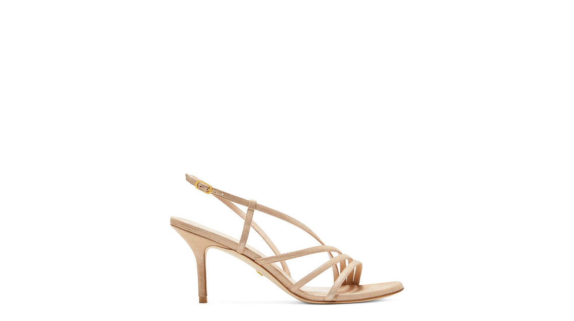 MELODIE 75 SANDAL, Platino gold, Product image number 0