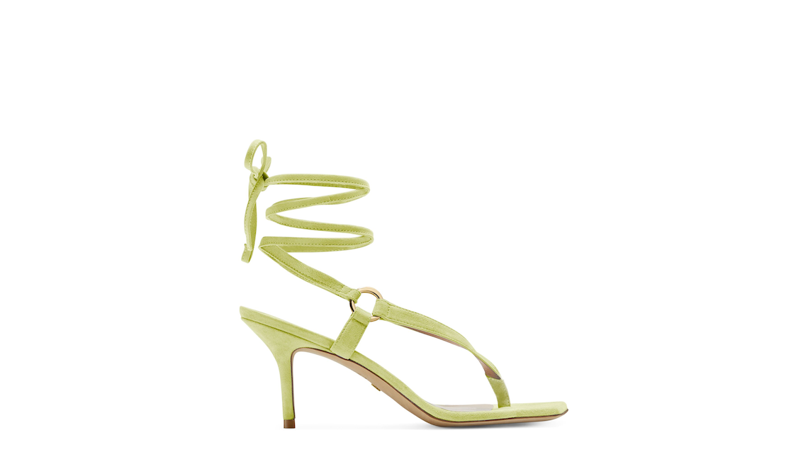 LALITA 75 SANDAL, Electric lime, Product image number 0