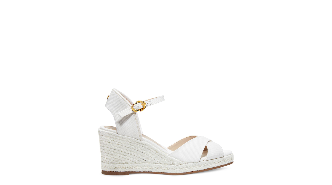 MIRELA ESPADRILLE WEDGE , Cream, Product image number 0
