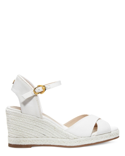 MIRELA ESPADRILLE WEDGE , Cream, ProductTile