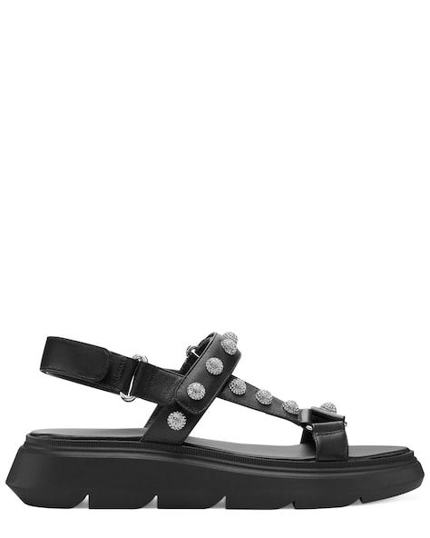 ZOELIE CRYSTAL BALL SANDAL, Black, ProductTile