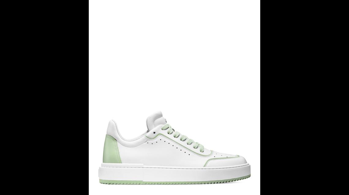 RYAN LOW-TOP SNEAKER, White & quartz green, Product image number 0