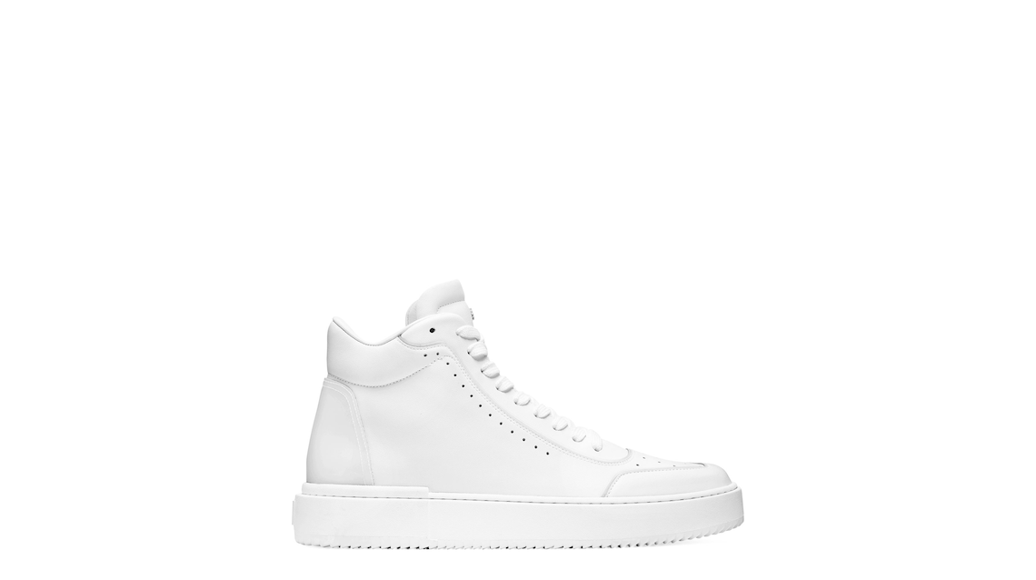 RYAN HIGH-TOP SNEAKER, White & clear, Product image number 0