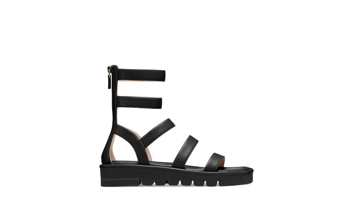 GALA LIFT SANDAL, Black, Product image number 0