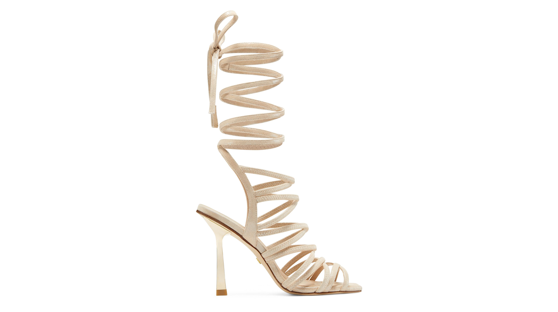 JAXIE 100 SANDAL, Platino gold, Product image number 0
