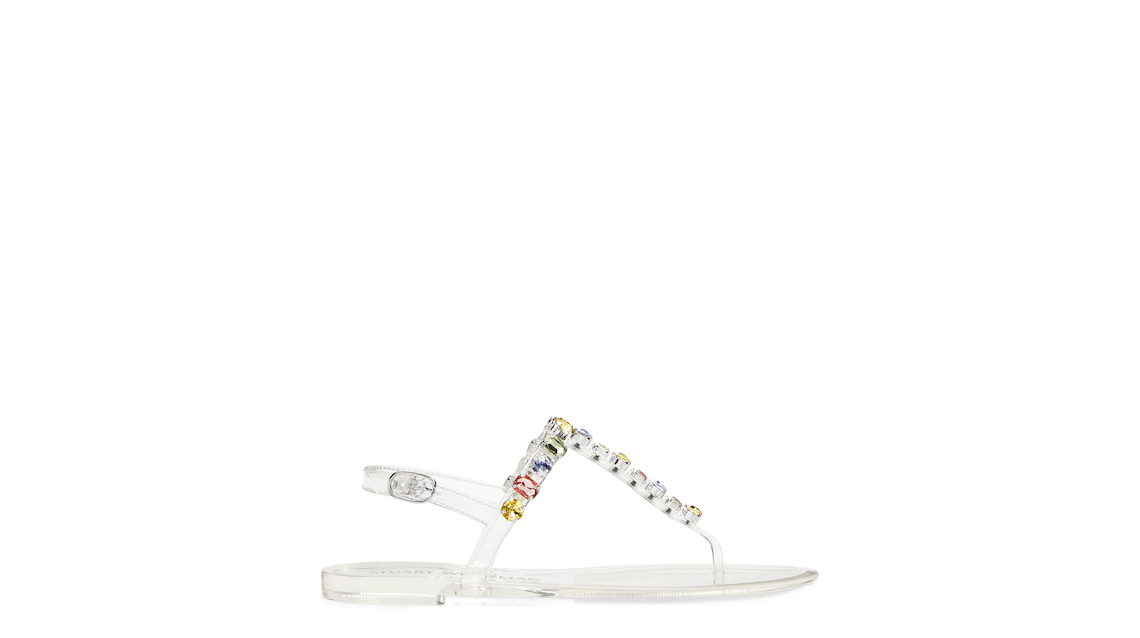 JAIDE GEM JELLY FLAT, Clear, Product image number 0
