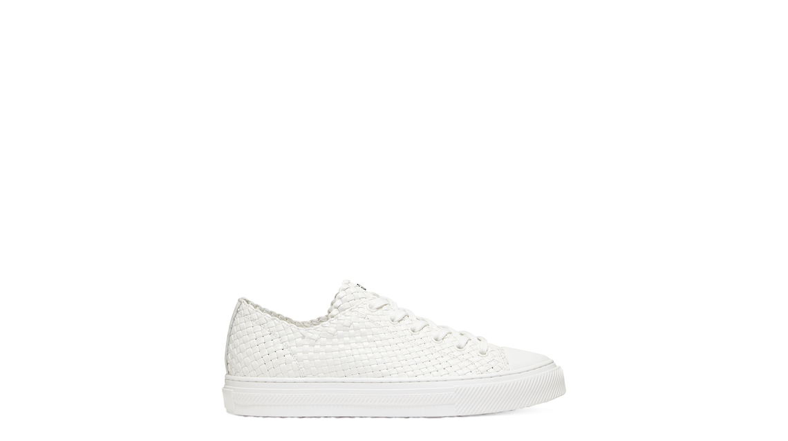 WOVA LOW-TOP SNEAKER, Cream, Product image number 0