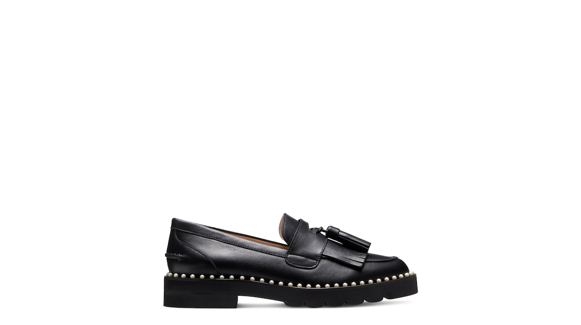 MILA LIFT PEARL LOAFER, Black, Product image number 0