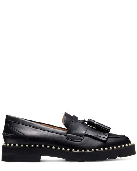 MILA LIFT PEARL LOAFER, Black, ProductTile