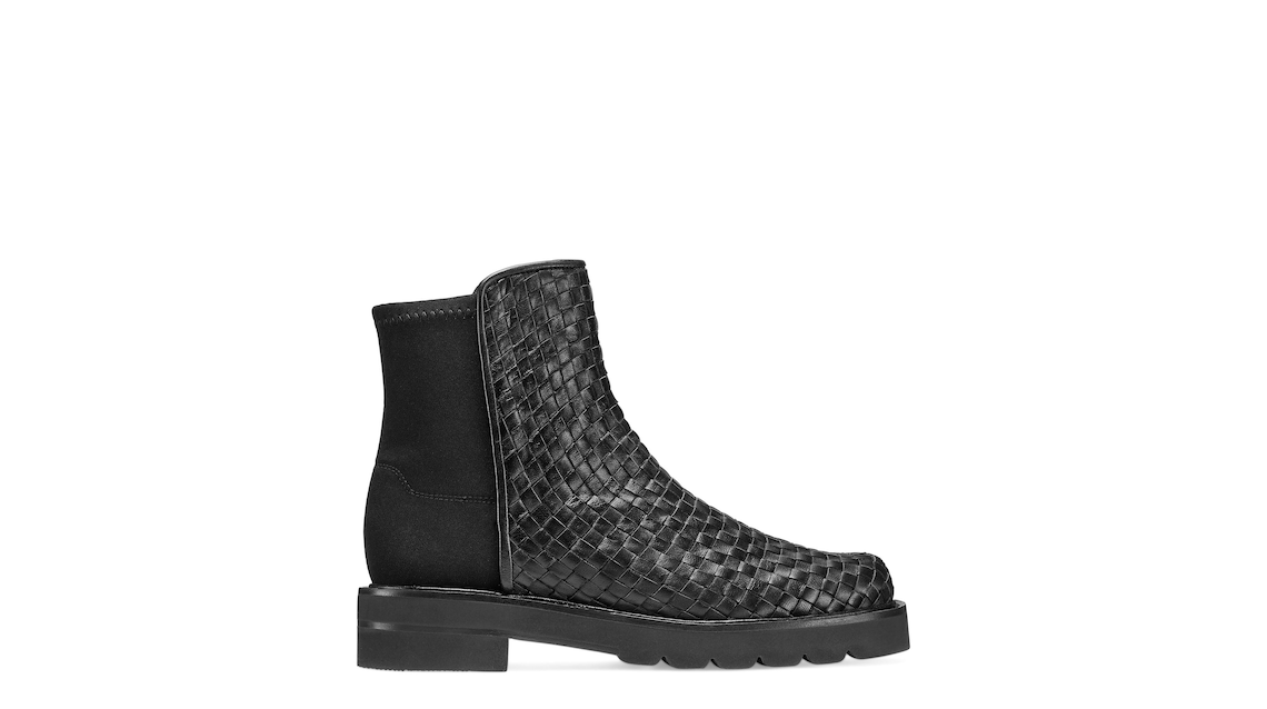 5050 LIFT WOVEN BOOTIE, Black, Product image number 0