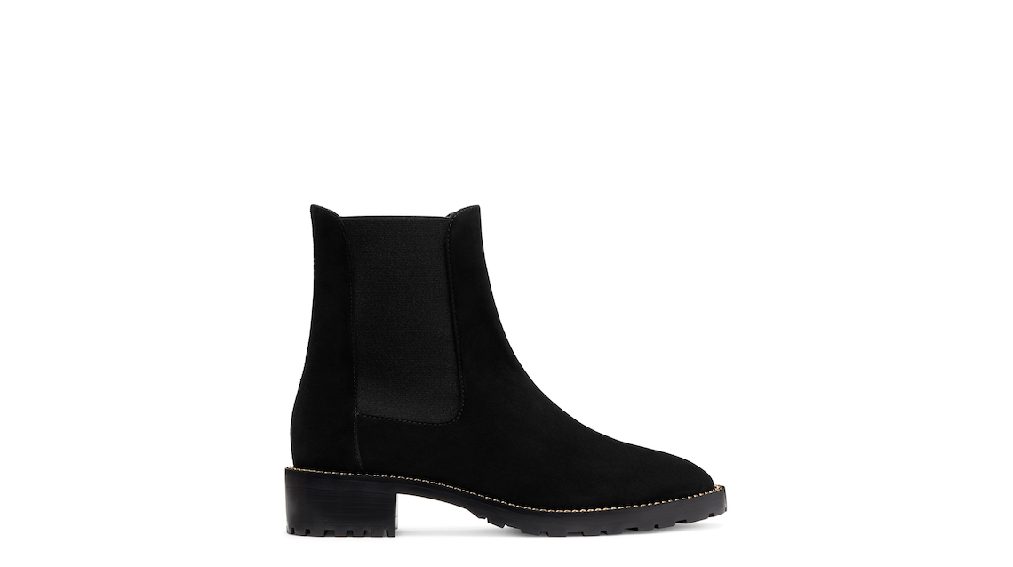 KOLBIE CHAIN CHELSEA BOOT, Black, Product image number 0