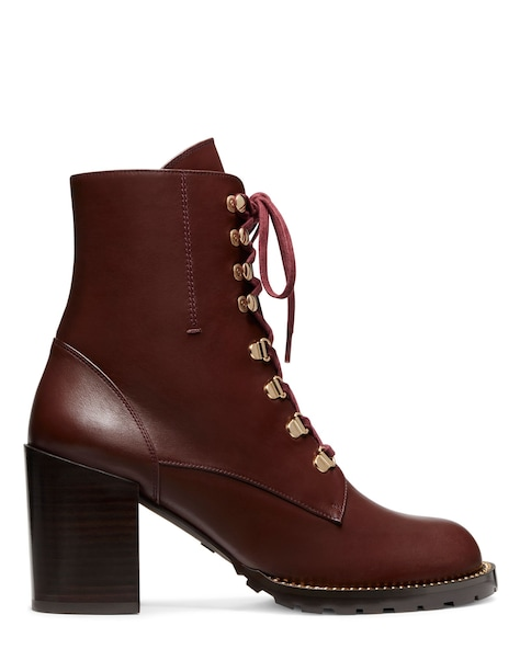 KOLBIE CHAIN BLOCK BOOTIE, Mahogany brown, ProductTile