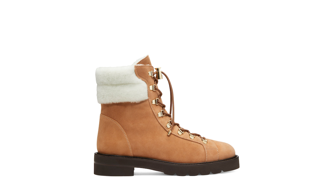 ROCKIE LIFT CHILL BOOTIE, Tan & White, Product image number 0