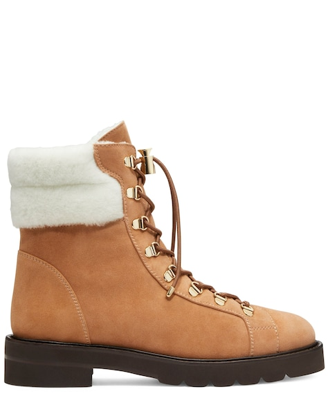 ROCKIE LIFT CHILL BOOTIE, Tan & White, ProductTile