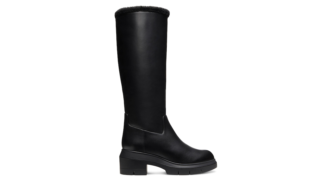 NORAH TALL CHILL BOOT, Black, Product image number 0