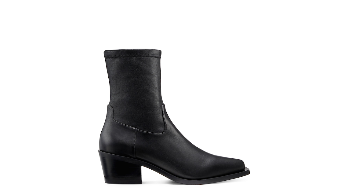 MILEY WESTERN BOOTIE, Black, Product image number 0