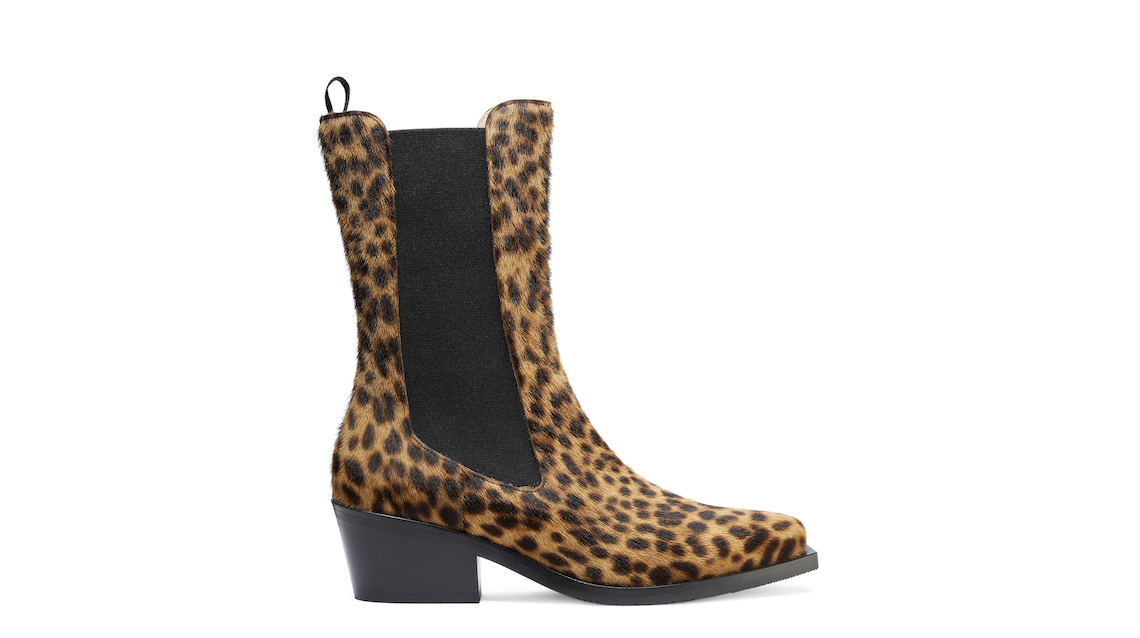 MILEY WESTERN BOOT, Leopard, Product image number 0