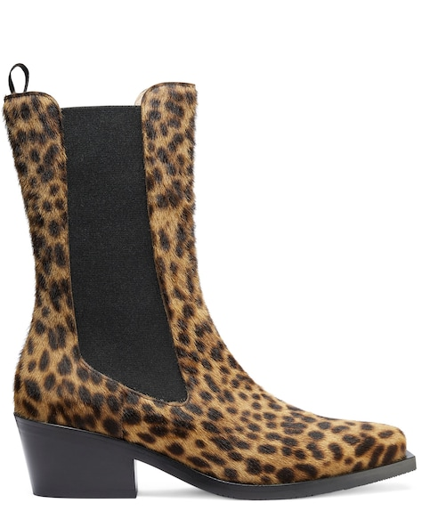 MILEY WESTERN BOOT, Leopard, ProductTile