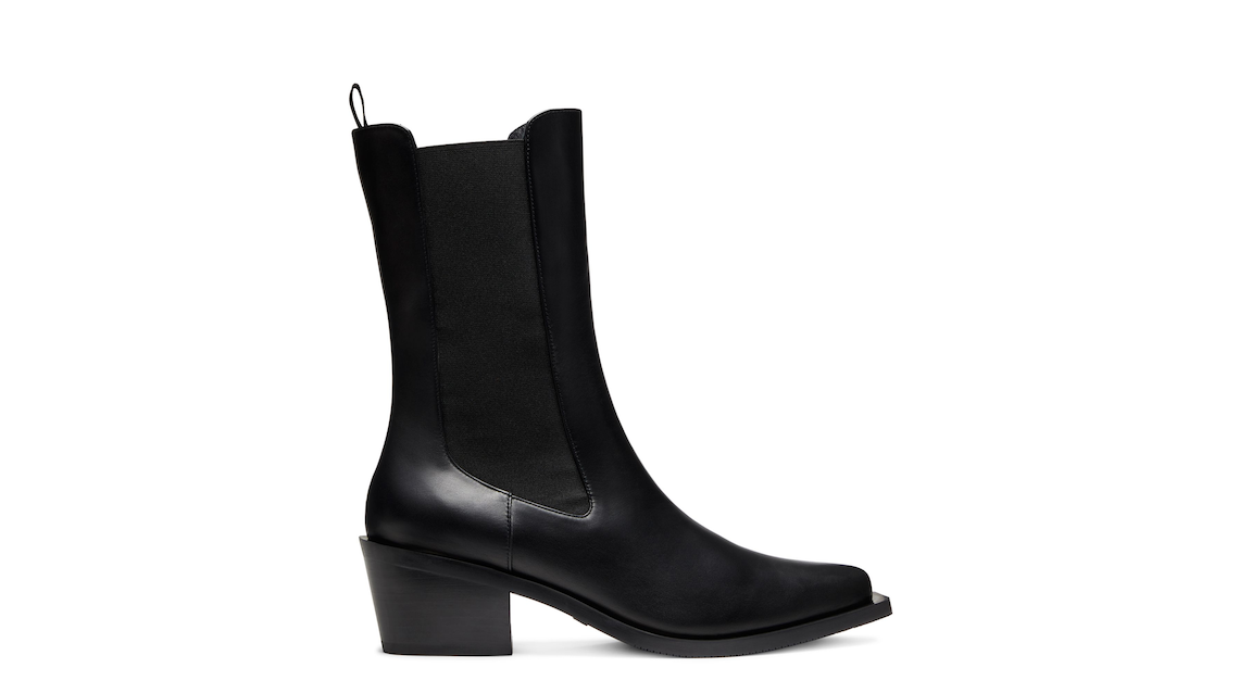 MILEY WESTERN BOOT, Black, Product image number 0