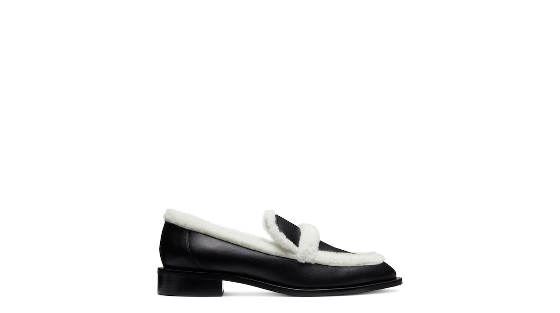 PALMER CHILL LOAFER, Black/White, Product image number 0