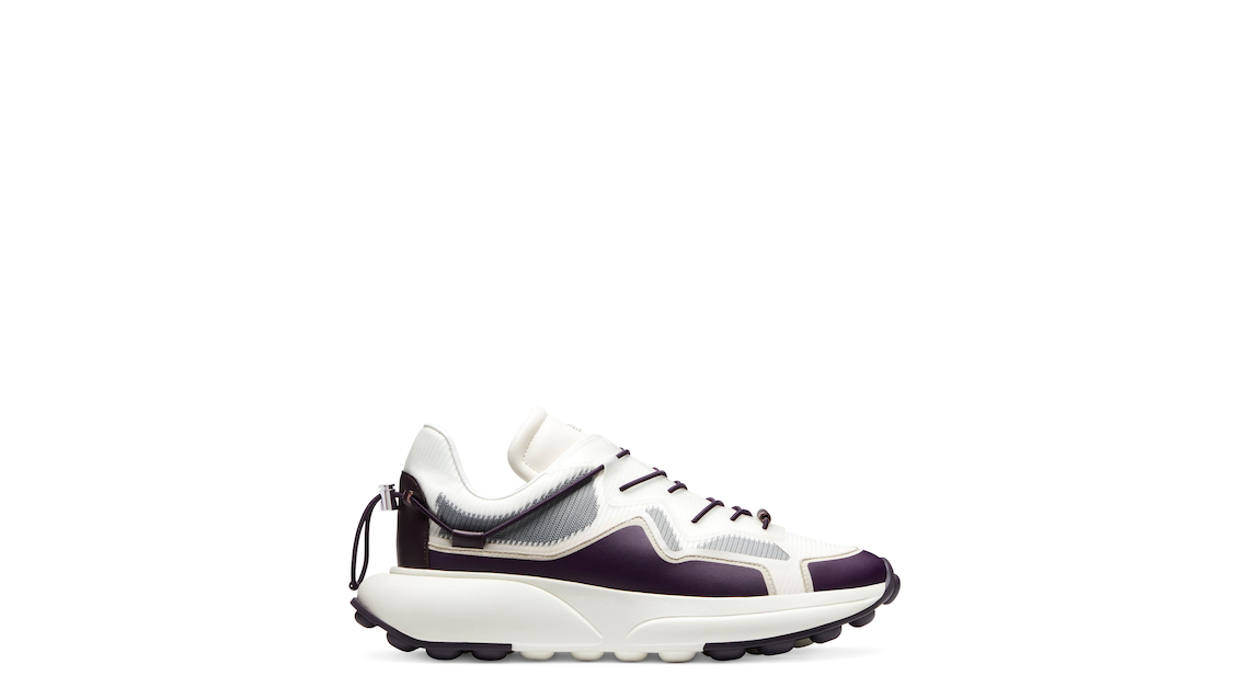 SW 1 SNEAKER, Cream & aubergine purple, Product image number 0