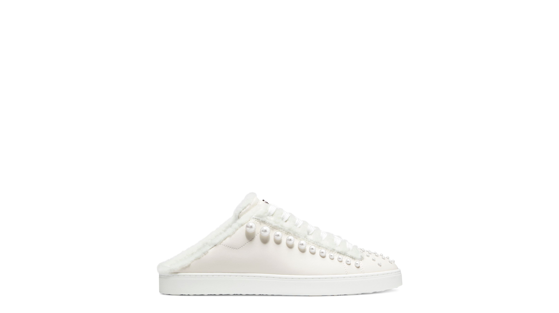 GOLDIE CHILL MULE SNEAKER, White & marble, Product image number 0