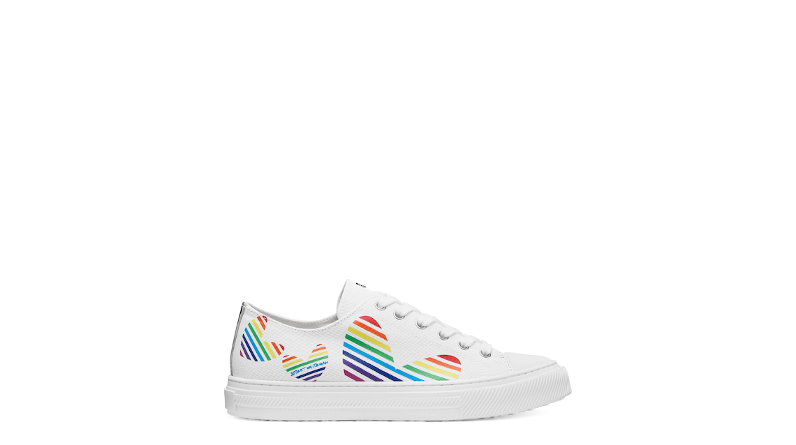 OLLIE HEART SNEAKER, Cream, Product image number 0
