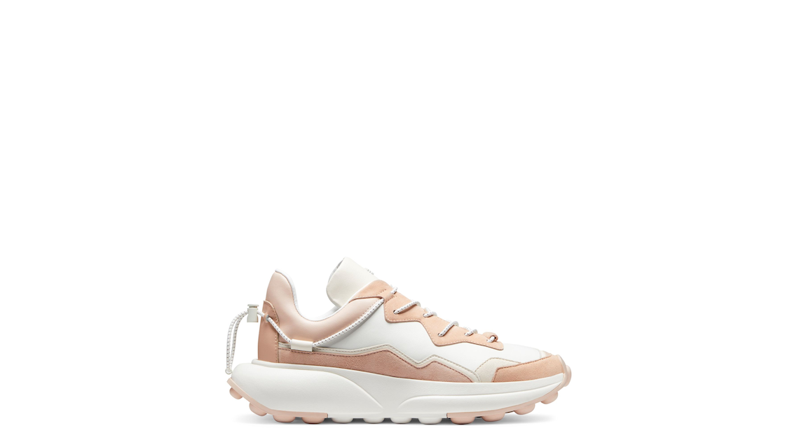 SW 1 SNEAKER, Cream & poudre blush pink, Product image number 0