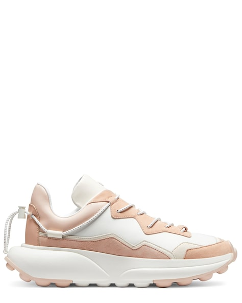 SW 1 SNEAKER, Cream & poudre blush pink, ProductTile